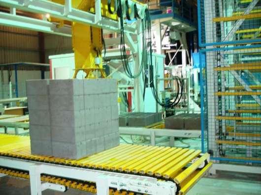 Вибропрессы для производства блоков, брусчатки, бордюров
