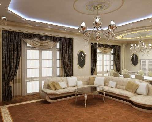 Дизайн интерьера квартир, домов, офисов