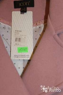 Новое пальто грязно-розового цвета в Москве Фото 1