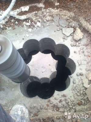 Алмазное бурение отверстий в Пензе Фото 1