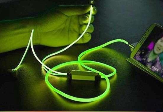 Светящиеся наушники Glow стань заметным в темноте! в Москве Фото 1