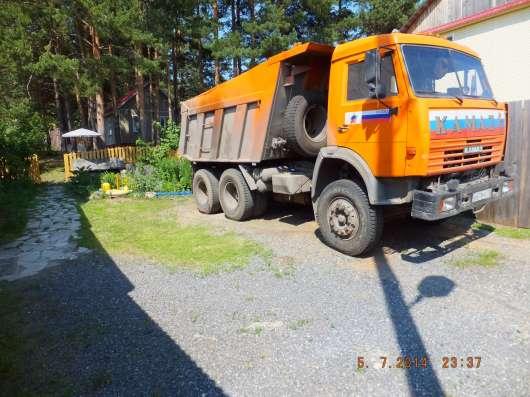 КАМАЗ 65115 - самосвал