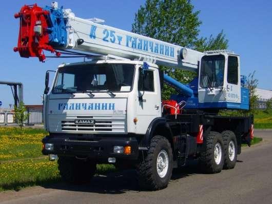 Аренда автокрана 25 тонн 28 метров ВЕЗДЕХОД