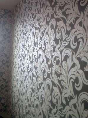 Поклейка обоев.Штукатурка.Шпаклевка.Покраска в Нижнем Новгороде Фото 1