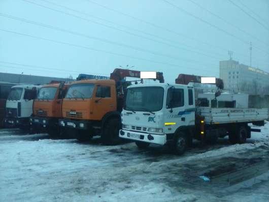 Услуги, аренда, грузоперевозки кран-манипулятор 5т в Нижнем Новгороде Фото 1