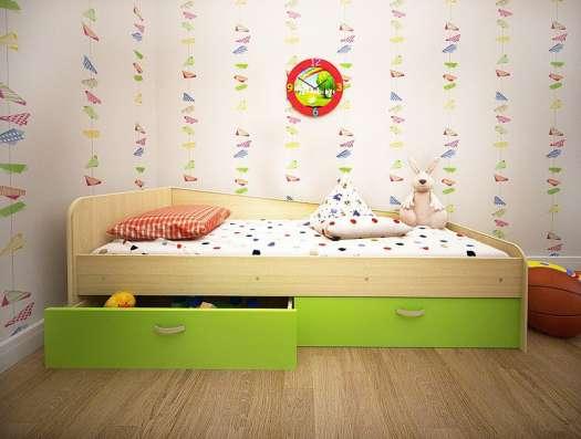 Кровать Антошка с 2-мя ящиками в Нижневартовске Фото 2