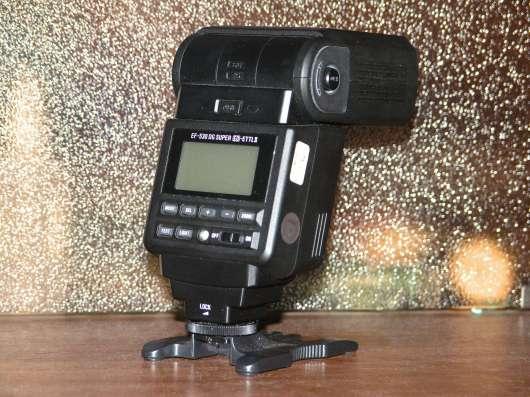 Фотовспышка для CANON  SIGMA EF 530 DG SUPER
