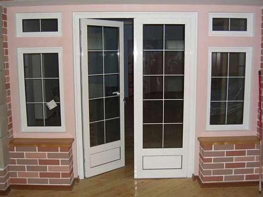 Окна двери витражи бурение скважин перегородки