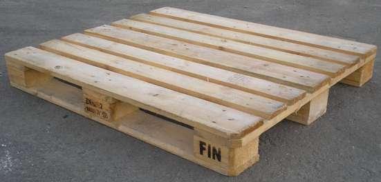 Европоддоны деревянные 1200х1000мм (fin)