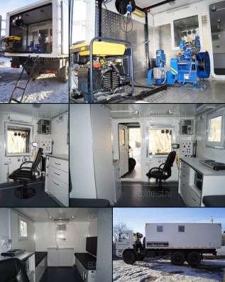 Лаборатория исследования скважин на базе КамАЗ 43114 в Сыктывкаре Фото 1