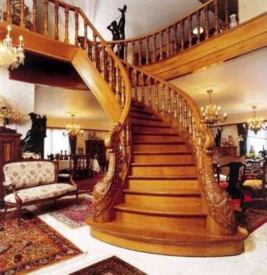 Кованные изделия. Деревянные лестницы в г. Астана Фото 1