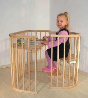 Кроватка приставная детская 0+ в Новосибирске Фото 1