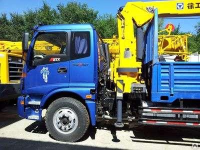 Бортовой грузовик Foton Ollin 4х2 с манипулятором 6.3т