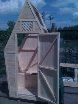 Туалетная кабина дерево - от производителя. Доставка. в Пензе Фото 1