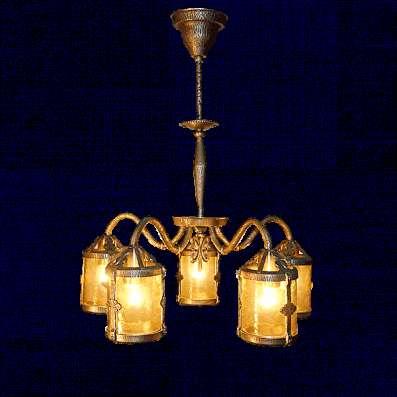 Продажа осветительных приборов из латуни