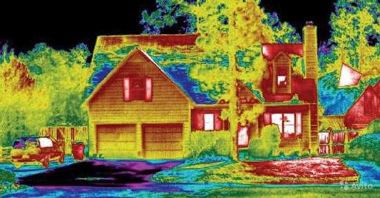 Тепловизионная диагностика состояния жилья в г. Мариинск Фото 3