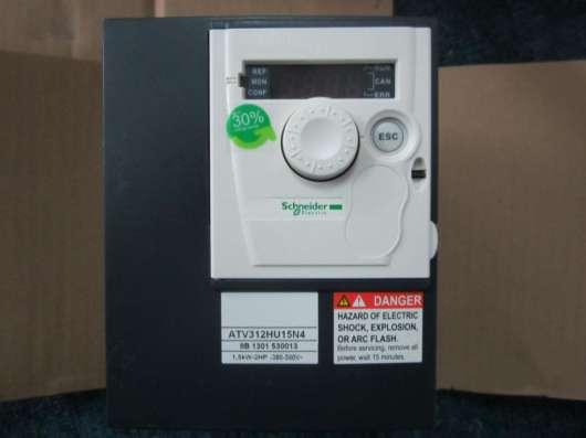 Преобразователь частоты Schneider ATV312 1.5 кВт 380в в Копейске Фото 1