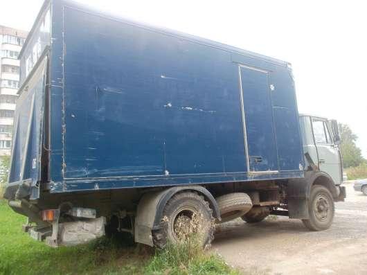 маз5337 термобудка.апарель.31куб 23 палет.2001г в. в Новосибирске Фото 1
