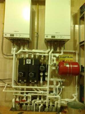 монтаж систем отопления под ключ в Набережных Челнах Фото 4