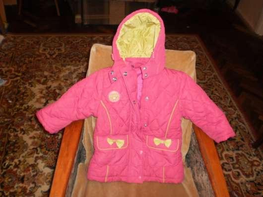 Куртка для девочки размер 86-92 см