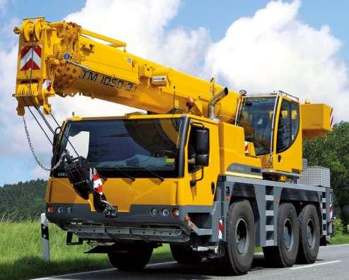 Аренда автокрана 50 тонн 38(54) метров