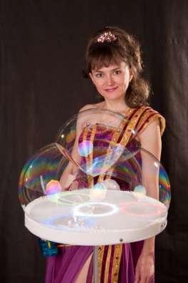 Шоу мыльных пузырей в Москве Фото 1