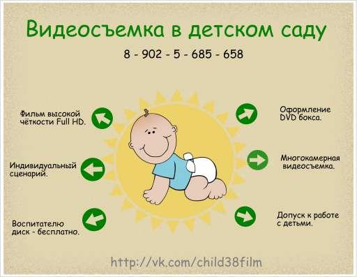 Видеосъемка детский сад