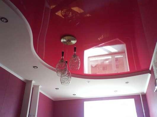 Матовый натяжной потолок в кухню всего за 3 тыс. р в Саратове Фото 2