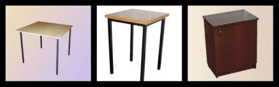 Продам Стол обеденный(ЛДСП) и табурет(металл/ ДСП) с доставк