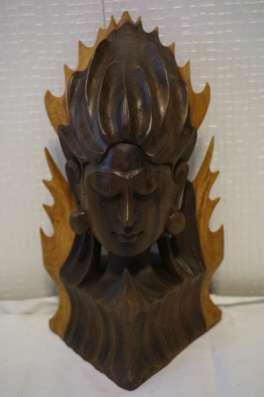 Художественная ручная резьба по дереву из Бали в Москве Фото 4