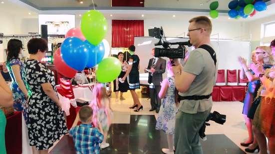 Видео и фото съёмка банкета, дня рождения, экскурсии