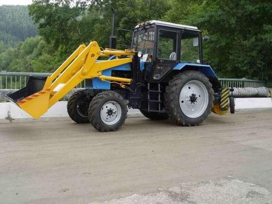 Трактор коммунальный Мк-3 на базе трактора Мтз-82 (Погрузчик