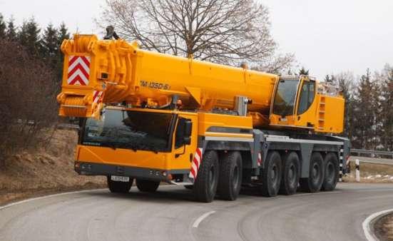 Аренда автокрана 350 тонн 70(148) метров Liebherr LTM 1350
