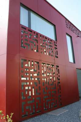 Фасадный морозостойкий пластик Hpl Resoplan-F, панели hpl