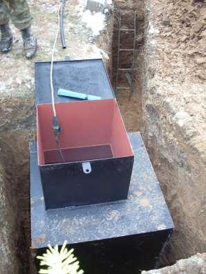 Металлический кессон на скважину всегда в наличии с доставко