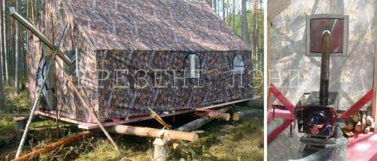 Палатка таежная бескаркасная