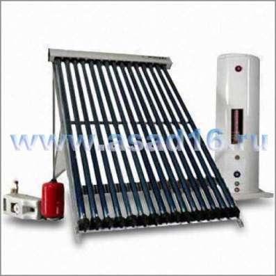 Солнечный вакуумный коллектор 20 трубок Китай