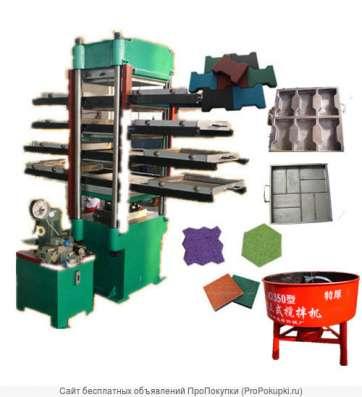 Мини-завод производства травмобезопасных покрытий