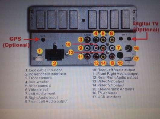 Автомагнитола GC-F6075B универсальная 2DIN.Новая.
