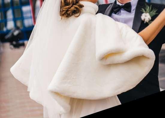 продаю свадебную шубку