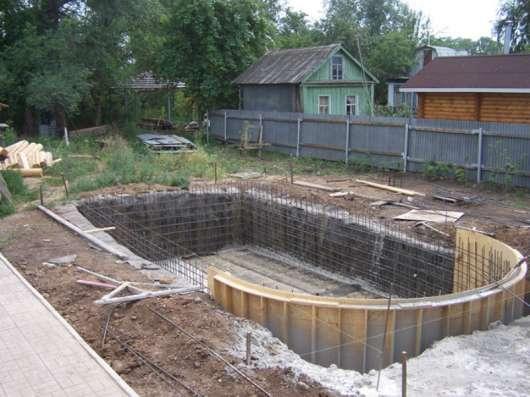 Строительство и Изготовление бассейнов