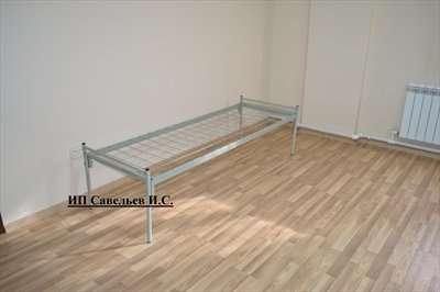 Металлические кровати эконом класса.