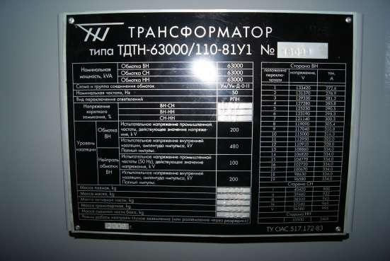 Трансформаторы ТФЗМ, НКФ, ТМ, ТМГ, ТМЗ, ТДНС, ТДТН, ТРДН в Екатеринбурге Фото 3