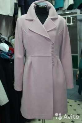 Новое пальто грязно-розового цвета в Москве Фото 3
