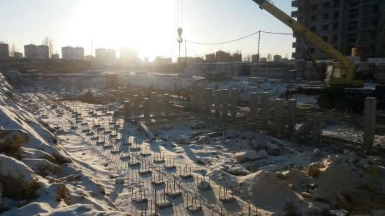 Свайные работы, Погружение свай, Забивка свай в Челябинске Фото 1