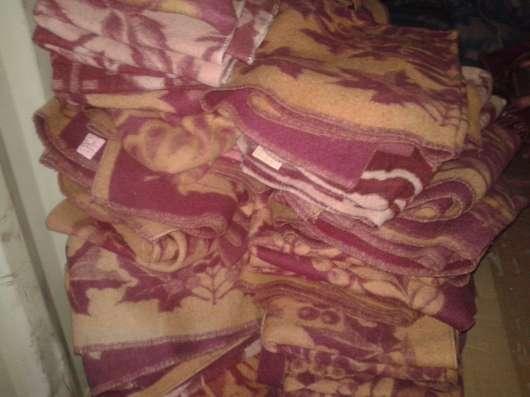 Одеяла б/у полушерстяные 1,5 сп.