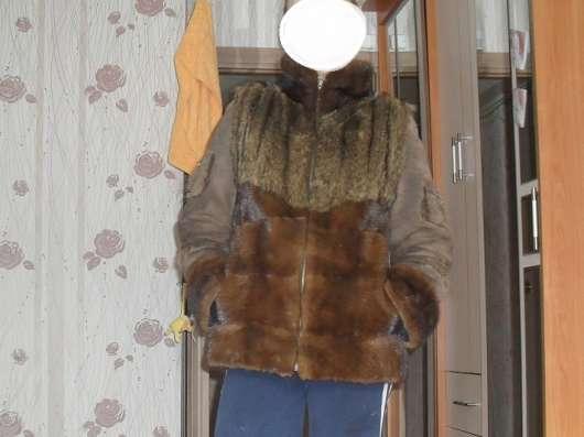 Продаю меховую курточку