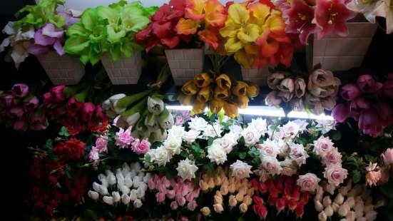 Лучшее предложение - цветы из эко-силикона, имитация живых цветов!