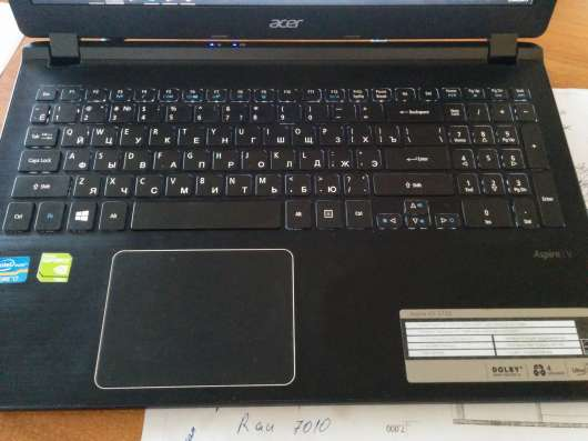 Ноутбук с игровой видеокартой intel I7, nvidia 750
