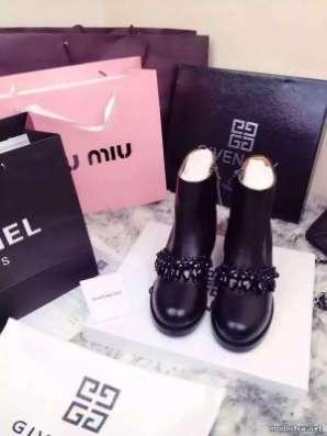 Ботинки Givenchy с цепью осень 2015 в modnitca